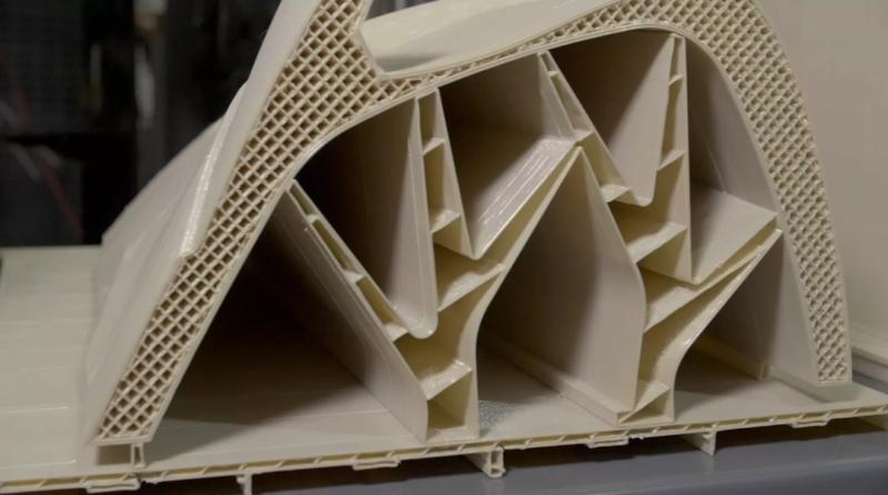 Міцна та легка конструкція побудована на адитивній системі Stratasys